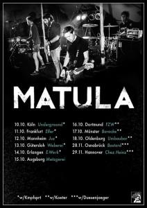 MATULA TOUR OKT 14